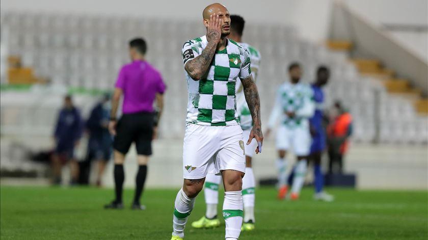 Foram sete os golos do ponta de lança brasileiro desde janeiro. Foto: Estela Silva/Lusa