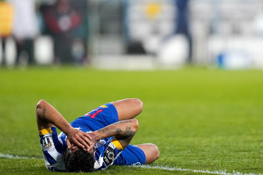 Corona, FC Porto, lesionado diante do Gil Vicente. Foto: Hugo Delgado/Lusa