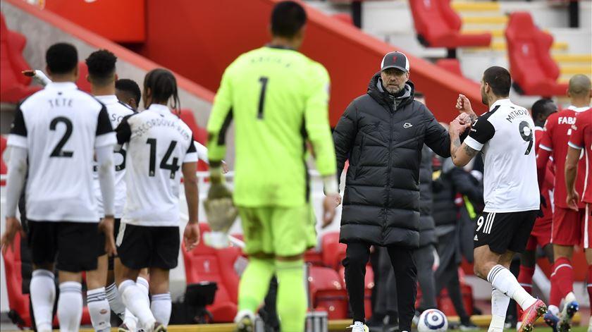 Liverpool de derrota em derrota