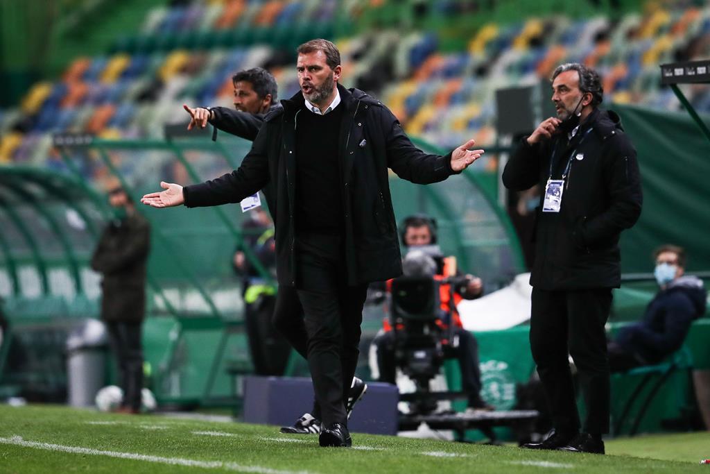 João Henriques já não é treinador do V. Guimarães. Foto: José Sena Goulão/Lusa