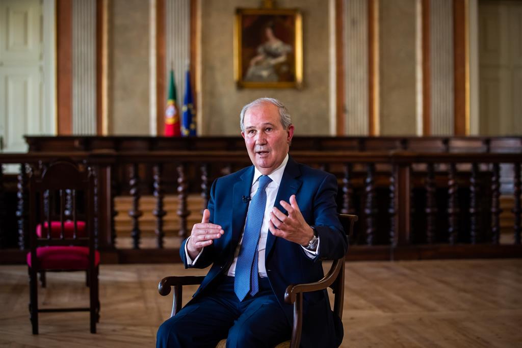 António Piçarra, presidente do Supremo Tribunal e do Conselho da Magistratura. Foto: José Sena Goulão/Lusa