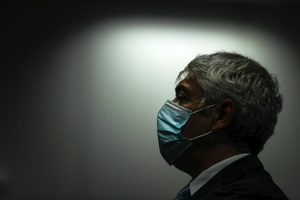 José Sócrates é o principal arguido. Foto: Mário Cruz/Lusa