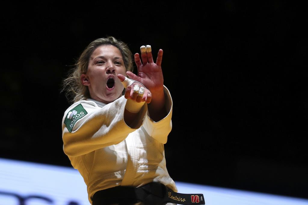 Telma Monteiro tem o poder. Foto: Nuno Veiga/Lusa