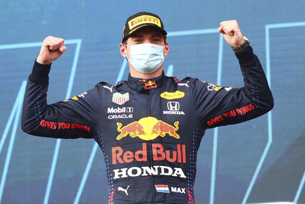 Max Verstappen, Red Bull, ganha Grande Prémio de Fórmula 1 de Emilia Romagna. Foto: Davide Gennari/EPA