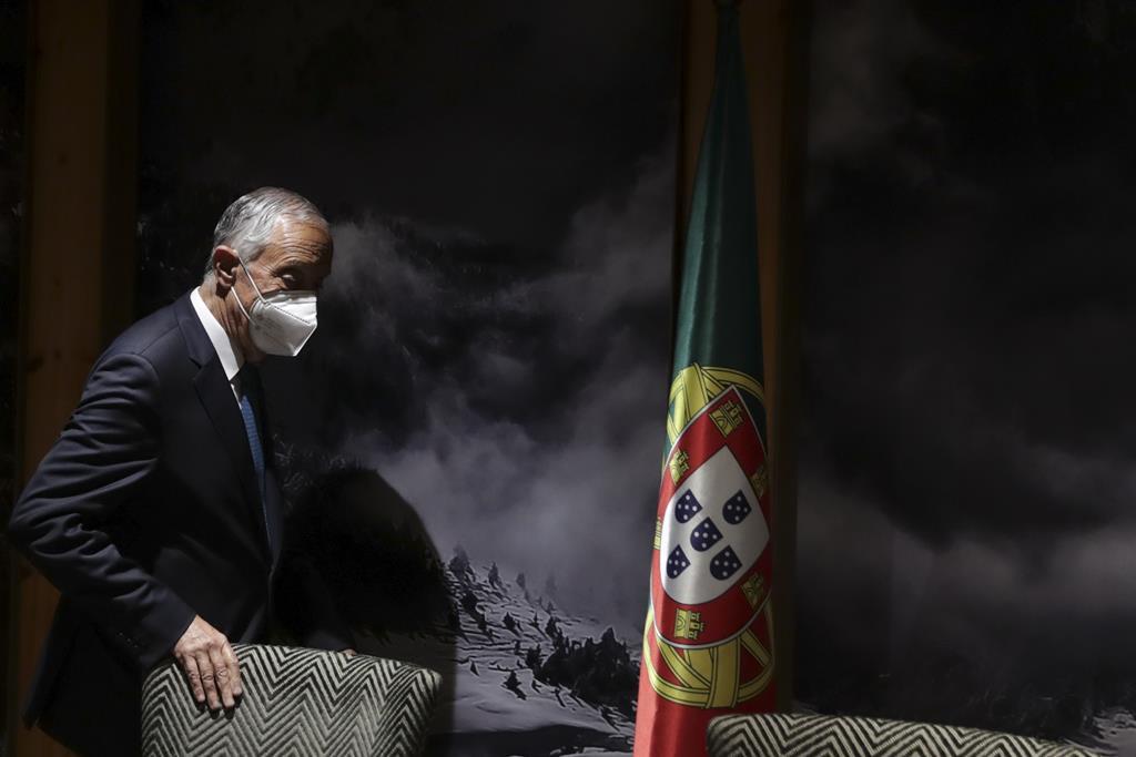 "Marcelo Rebelo de Sousa ""confiante"", mas ""insatisfeito"". Foto: Tiago Petinga/Lusa"