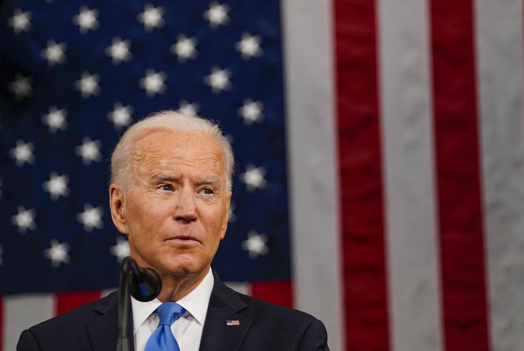 Joe Biden quer 160 milhões de vacinados até 4 de julho. Foto: Melina Mara/EPA