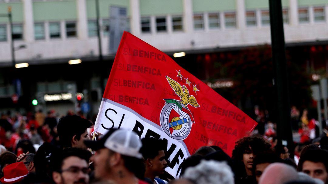 A vitória dos encarnados, este sábado, ditou a ascensão direta à Liga dos Campeões. Foto: Joana Gonçalves/Renascença.