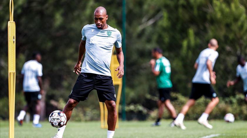 Eduardo foi titular em apenas 11 jogos pelo clube de Alvalade. Foto: Sporting CP