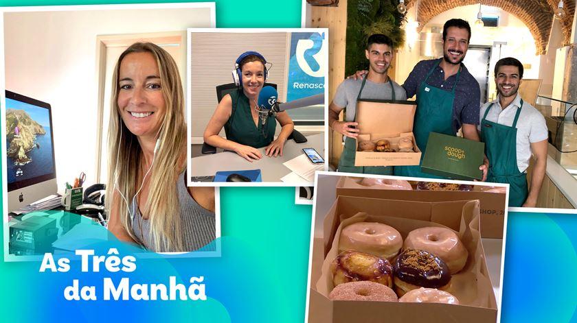Donuts por todo o lado - As Três Da Manhã