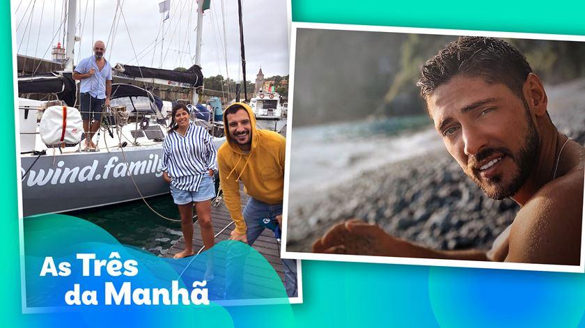 Ângelo Rodrigues, veleiros e aulas - As Três Da Manhã