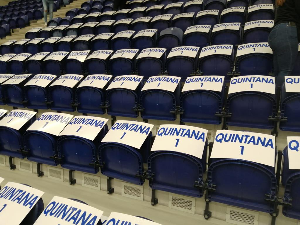 Detalhes da homenagem no Dragão Arena. Foto: DR