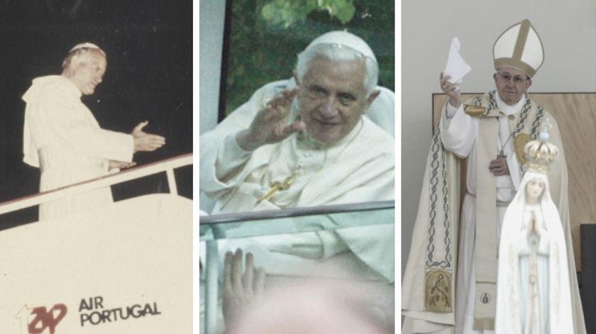 O que disseram os Papas aos jovens portugueses