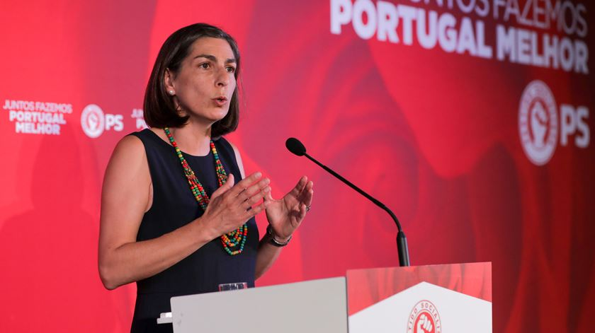 """""""Grande vitória"""" dá força ao Partido Socialista, diz Ana Catarina Mendes"""