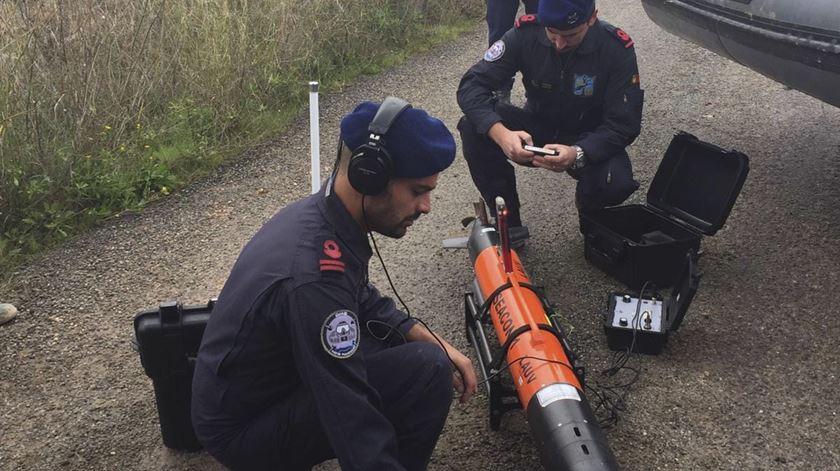 Tragédia em Borba. Marinha dá apoio a buscas na pedreira