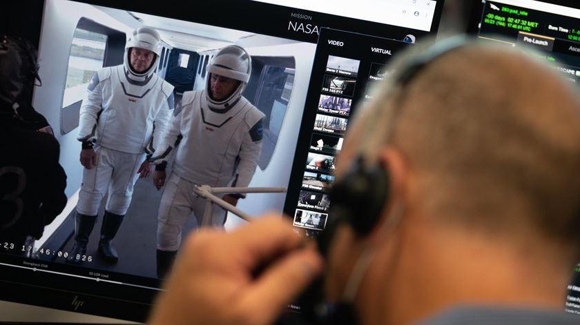 NASA envia dois astronautas ao espaço e vai poder assistir a tudo