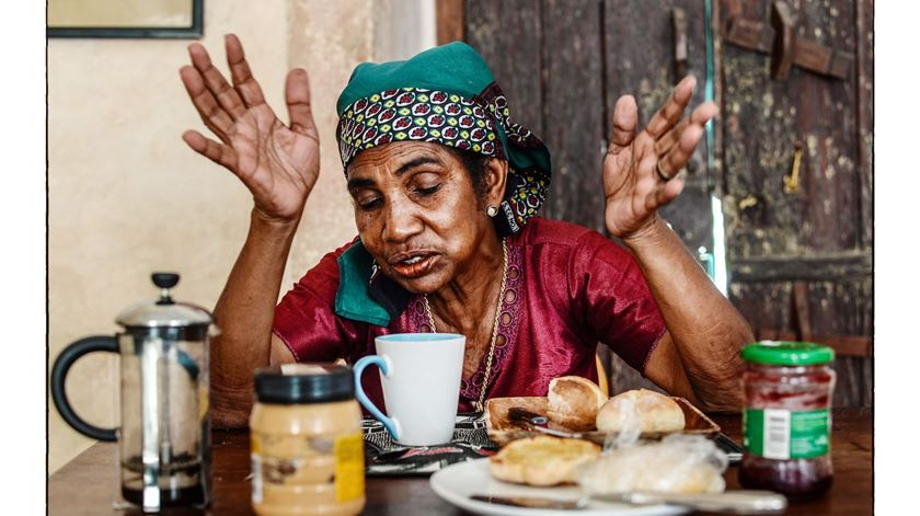 Moira Forjaz exibe retratos de habitantes da Ilha de Moçambique