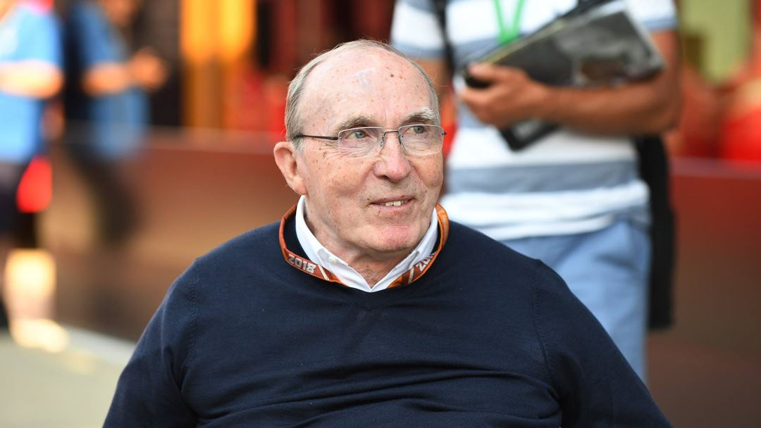 Frank Williams: Foto: Facebook Williams Racing