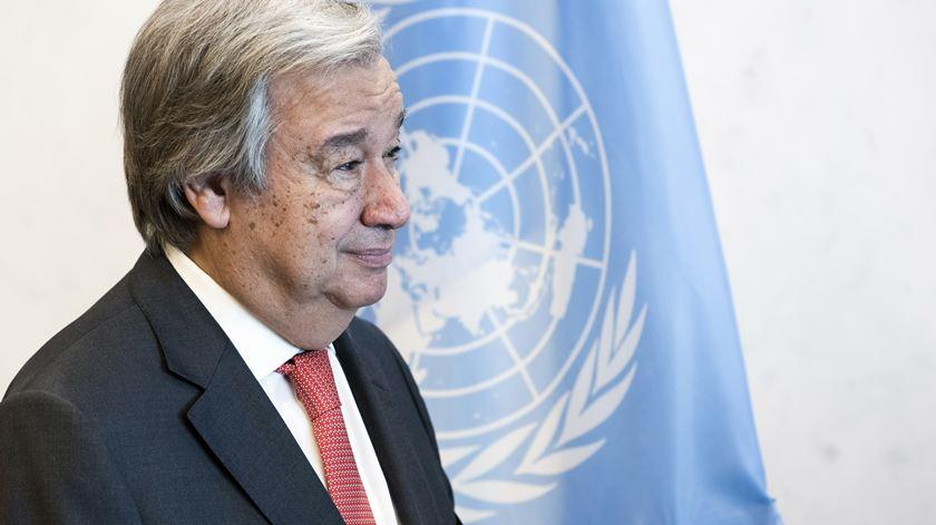 """Guterres. """"Defesa dos direitos humanos"""" tem de ser a prioridade"""