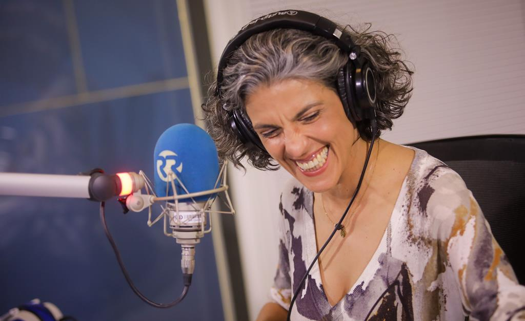 O Turno da Tarde com Sónia Santos e Daniel Leitão, no dia em que a Rádio Renascença celebra 84 anos. Foto: Joana Bourgard/RR
