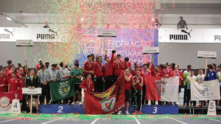 Benfica e Sporting repetem títulos nacionais de atletismo