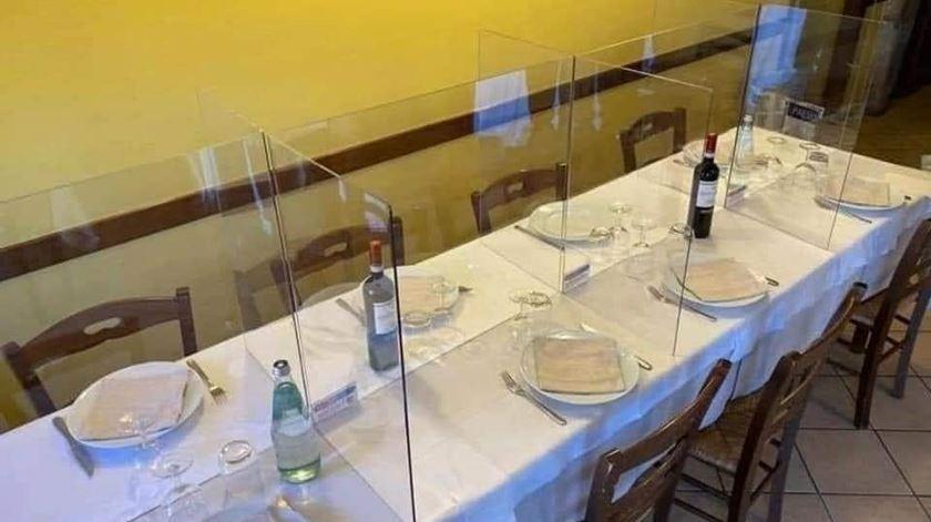 Restaurante Ze Pataco implementou medidas de segurança devido à pandemia de Covid-19 Foto: Facebook