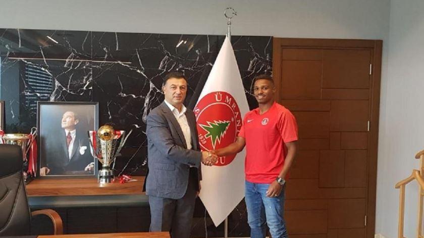 Vasco Fernandes na segunda divisão da Turquia