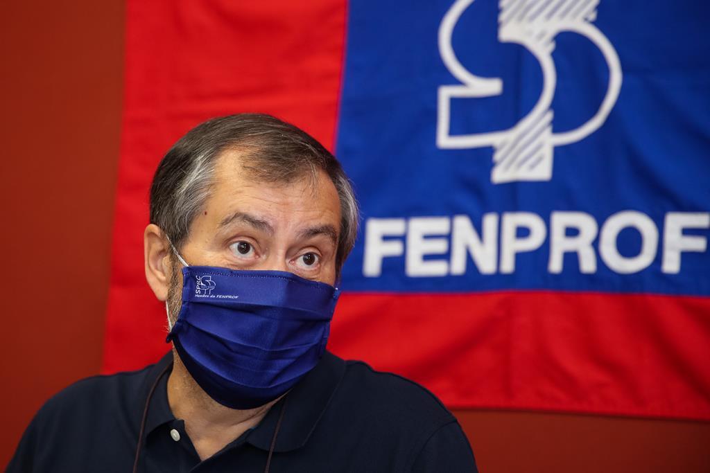 Mário Nogueira, da Fenprof. Foto: Paulo Novais/Lusa