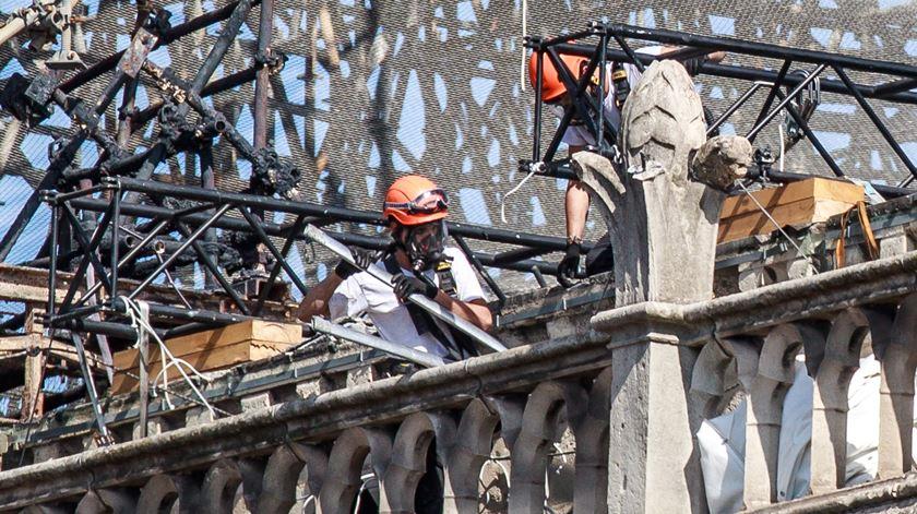 Coronavírus. Obras na catedral de Notre-Dame recomeçam esta segunda-feira