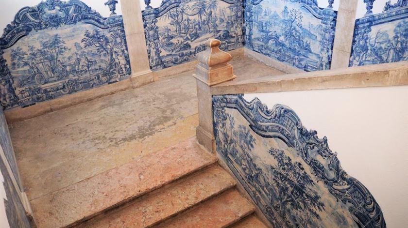 Os azulejos são uma das atrações de São Vicente de Fora Foto: MSVF