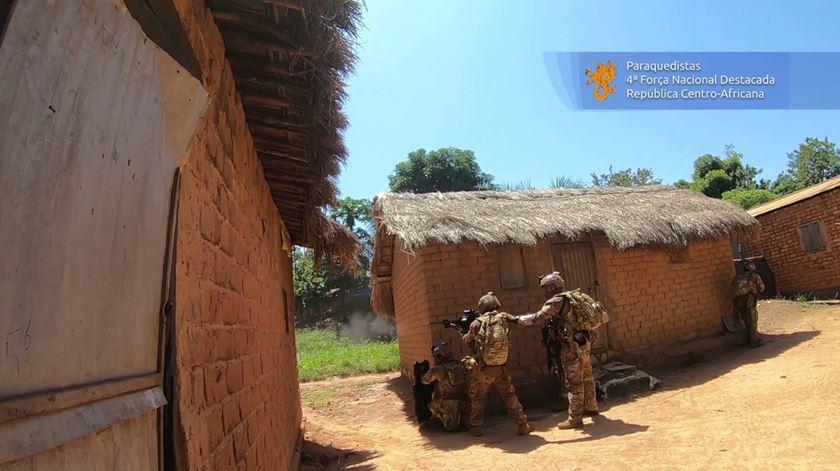 Militares portugueses em combate durante cinco horas na República Centro-Africana