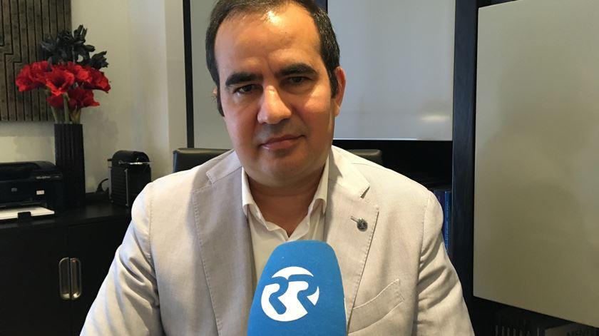 Entrevista a Pedro Afonso da jornalista Ângela Roque
