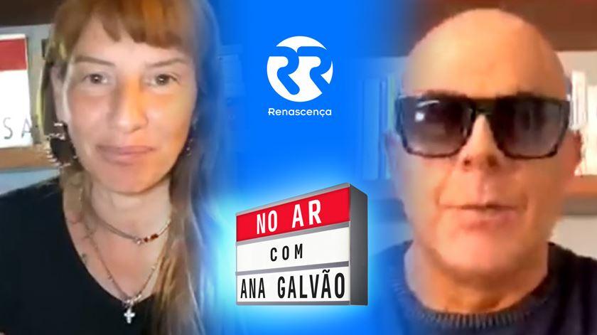 Pedro Abrunhosa No Ar com Ana Galvão