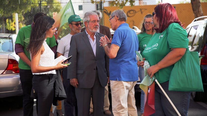 """Em Oeiras, há quem elogie o """"trabalho notável"""" de Isaltino Morais na autarquia. Foto Margarida Alpuim/RR"""