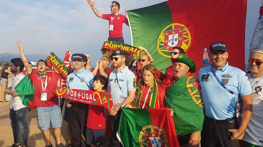 Segurança dos adeptos na Rússia faz-se também em português
