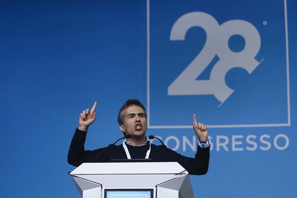 Adolfo Mesquita Nunes no congresso do CDS, em janeiro de 2020. Foto: Paulo Novais/Lusa