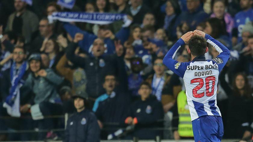"""Adrián López sobre o FC Porto. """"Não me deixaram ter oportunidade"""""""