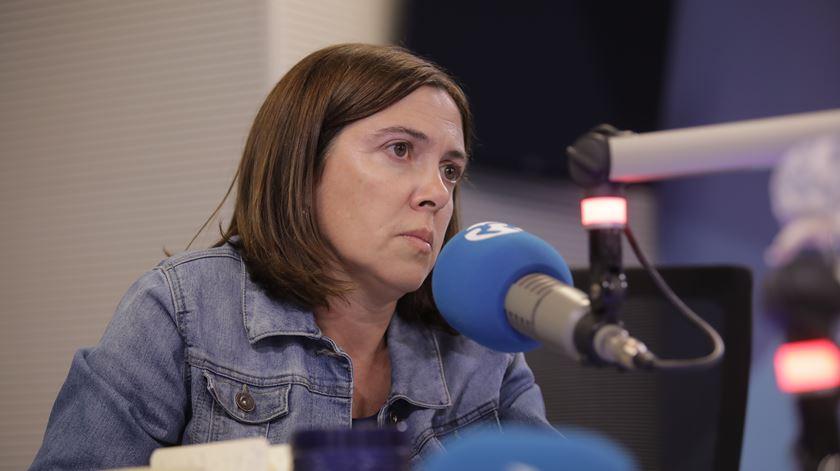 Catarina Marcelino, ex-secretária de Estado da Cidadadia e Igualdade. Foto: Inês Rocha/RR