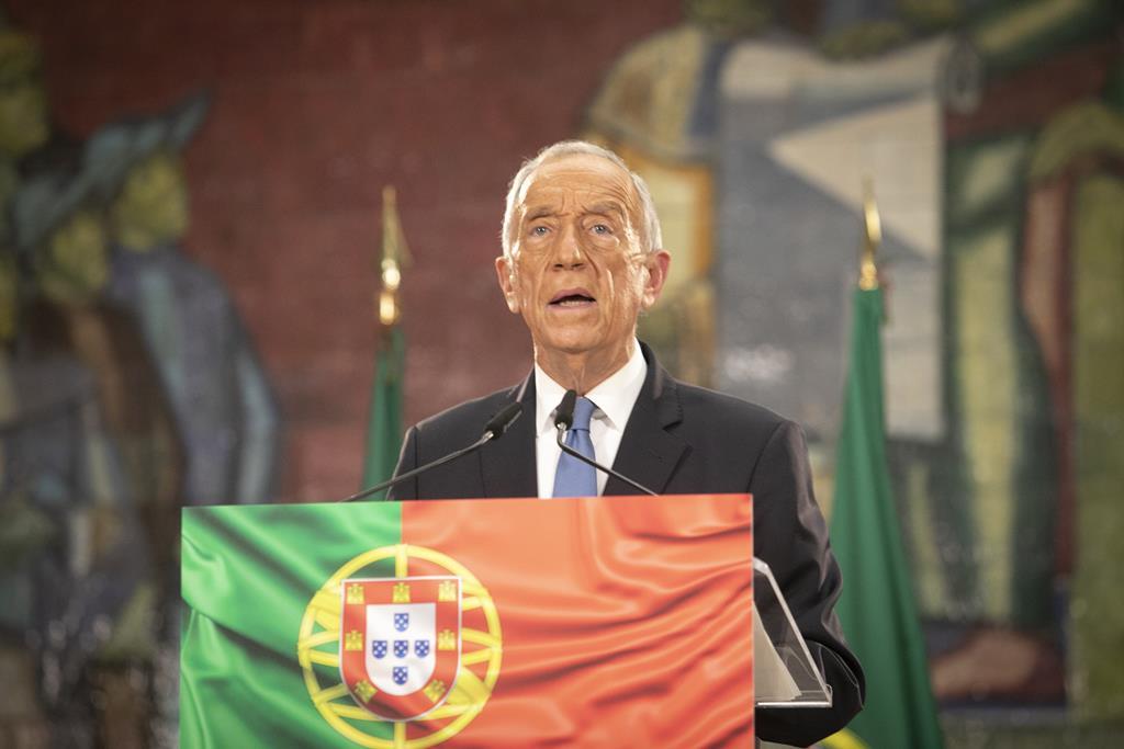 Marcelo Rebelo de Sousa lamenta morte de Alfredo Quintana. Foto: Ricardo Fortunato/RR