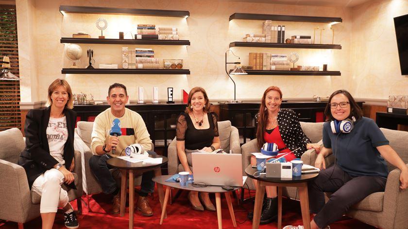 """Ana Marques e José Figueiras com """"As Três da Manhã"""" Foto: Sofia Moreira/RR"""