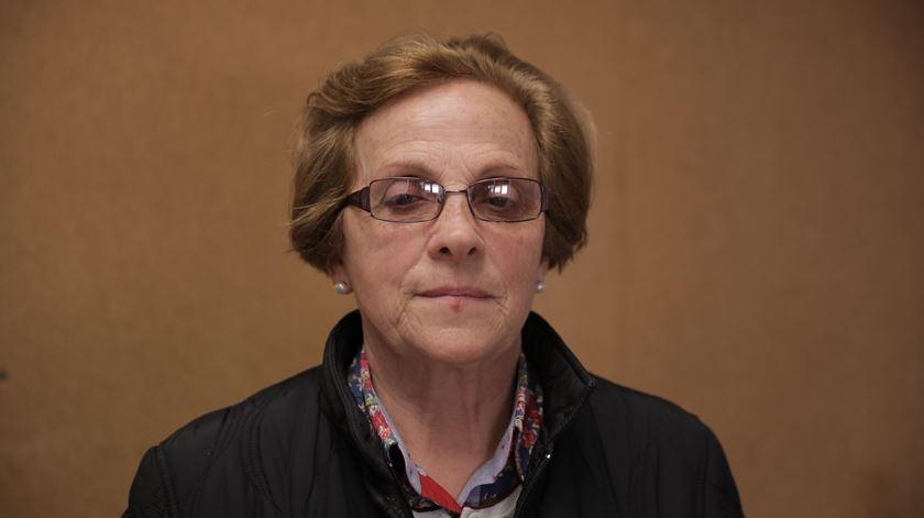 Amélia Pereira dos Sanots, vice-presidente da associação de familiares e amigos de vítimas de Femicídio (AFC) Foto: Joana Gonçalves/ RR