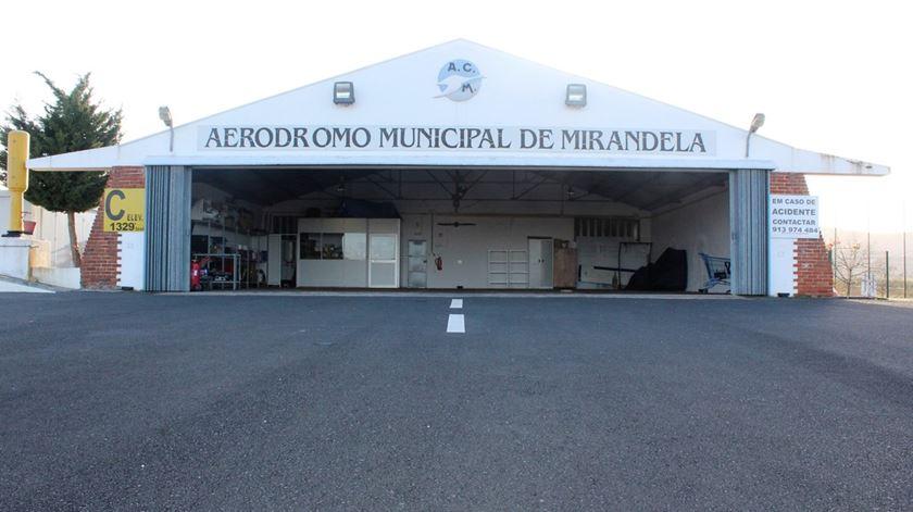 Aviões de combate a incêndios vão para Mirandela