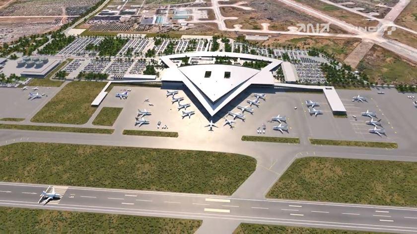 Como será o novo aeroporto do Montijo e como fica o Humberto Delgado?