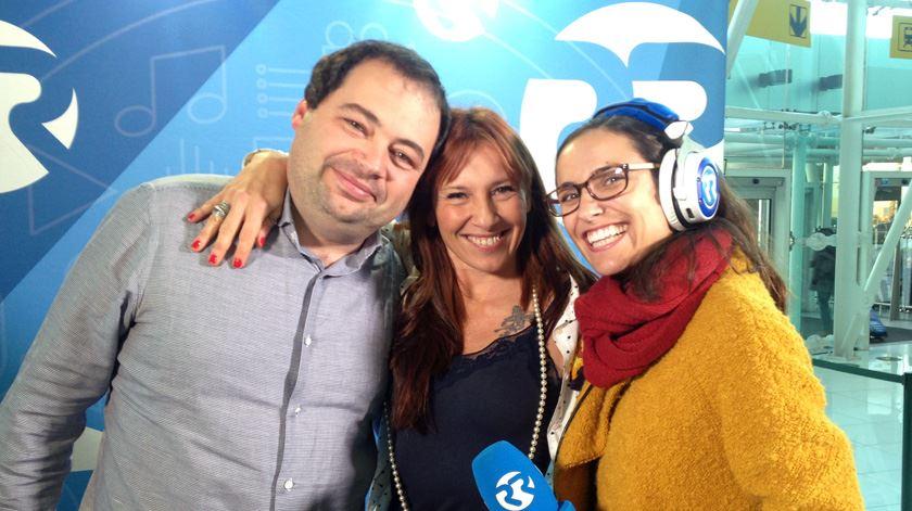 José Pedro Frazão, Ana Galvão e Miriam Gonçalves
