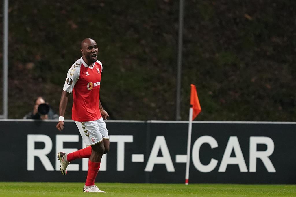 Al Musrati tem dois golos, em 31 jogos realizados pelo Sporting de Braga Foto: Hugo Delgado/Lusa