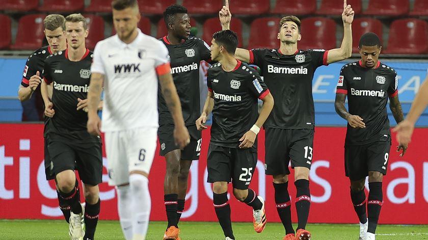 Lucas Alario, Bayer Leverkusen. Foto: Friedemann Vogel/EPA