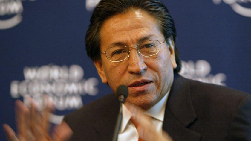Ex-Presidente peruano detido nos EUA