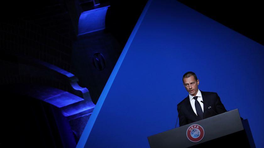 Covid-19.  Presidente da UEFA apoia o regresso dos jogos das seleções em setembro