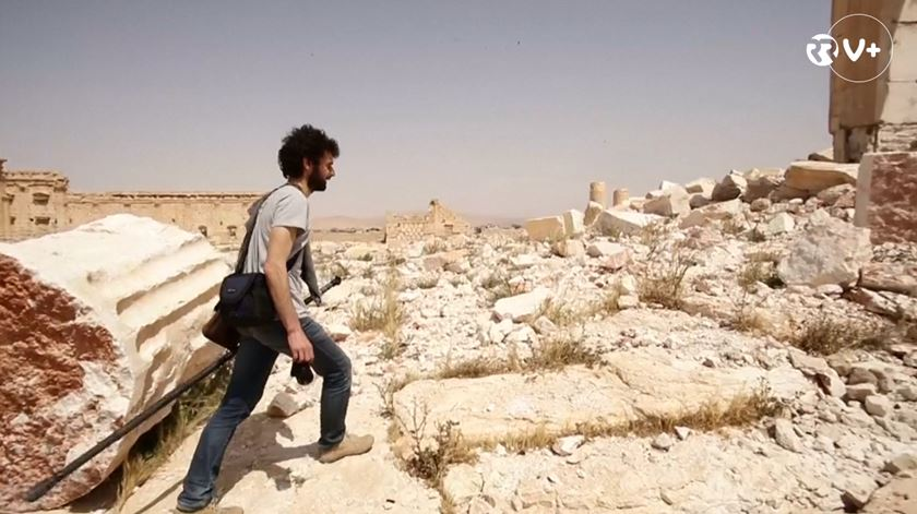 Uma start-up francesa está a reconstruir cidades destruídas pela guerra