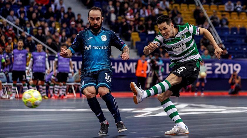 """Sporting e Modicus disputam vaga na final do """"play-off"""" de campeão no domingo"""
