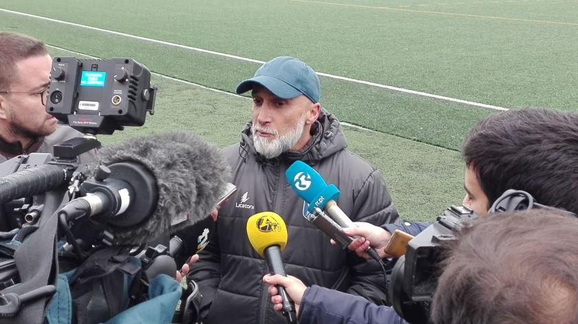 Treinador do Vizela poderá estar no banco contra o Benfica